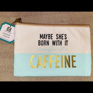 Maybe She's Born With It Maybe It's CAFFEINE Bag